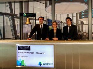 Lee más sobre el artículo Nace Armanext, primer Listing Sponsor español autorizado por Euronext