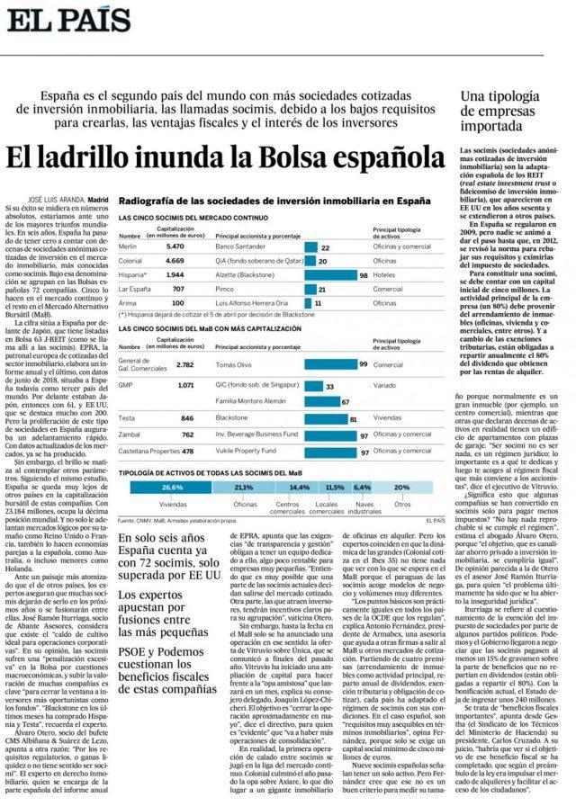 Lee más sobre el artículo «El ladrillo inunda la Bolsa española»