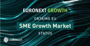 Euronext registrado oficialmente como «SME Growth Market»