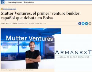 Lee más sobre el artículo Mutter Ventures & ArmanexT